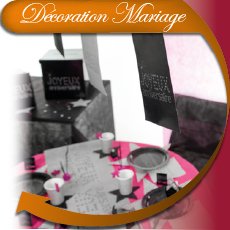 D�coration mariage