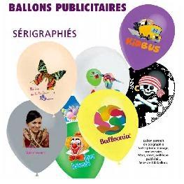 Ballons portrait, publicitaires