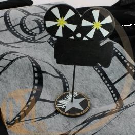 Caméra / déco de table théme cinéma