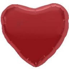 Ballon mylar coeur