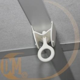 Maxi crochet rotatif PVC pour faux plafond