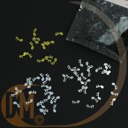 Sachet cavalier confettis de table note de musique