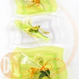 Assiette translucide
