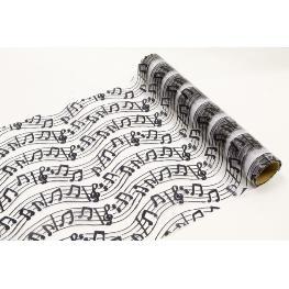 Rouleau organza theme musique