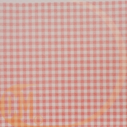 Chemin de table elegance vichy rouge