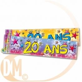 Bannière anniversaire les Années.