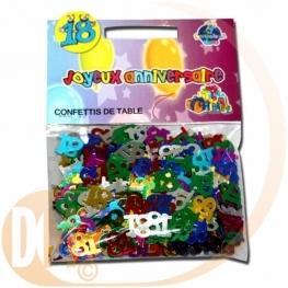 confettis de table ans