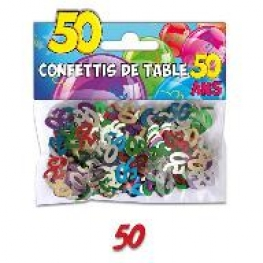 confettis de table ans