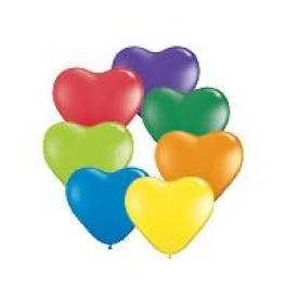 Ballons coeur par 100