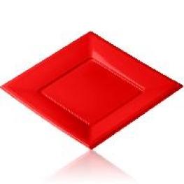 Assiette carré 23x23cm (12)