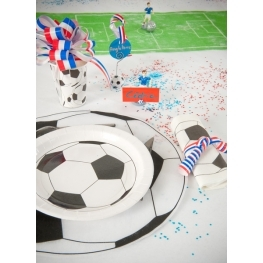 Set de table rond foot