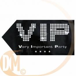 Flèche signalétique VIP