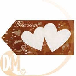Fl�che signal�tique mariage
