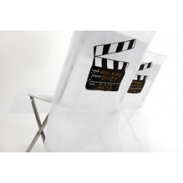 Housses de chaise cinéma x10