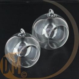 Boules verre ouverte