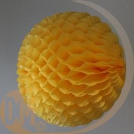 Boule en papier alvéolé