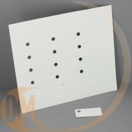 Etiquette dragées blanche ( planche 12 ) Vierge