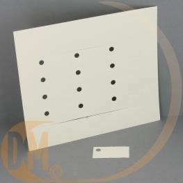 Etiquette dragées ivoire ( planche 12 ) Vierge