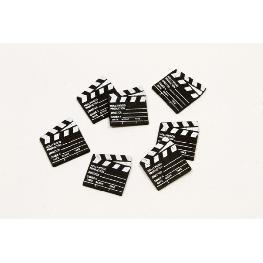 Clap de fin de film en bois (x25)