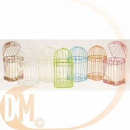 Cage m�tallique pour carte de voeux