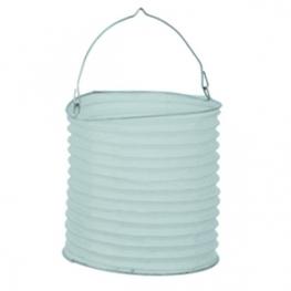 lanterne japonaise cylindrique 20 cm blanche