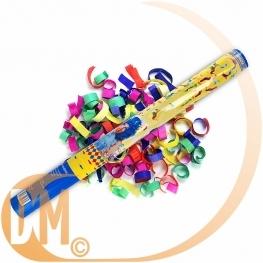 Canon à Confettis colorés 40 cm