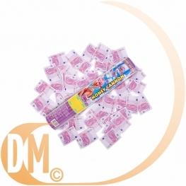 Canon à confettis  billets en euros