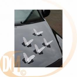 Papillons pour décoration de voiture