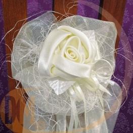 Bouquet organza rose 90 cm par 2