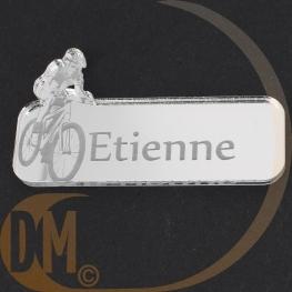 Marque place miroir vélo