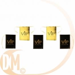 Banderole en carton VIP