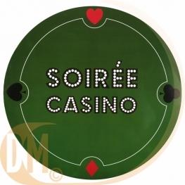 Set de table Poker