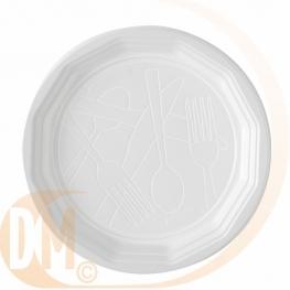 Assiette en plastique �conomique