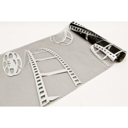 Chemin de table Organza Cinema