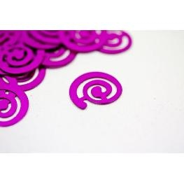 Confettis de table spirale fantaisie