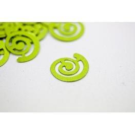 Confettis de table spirale fantaisie