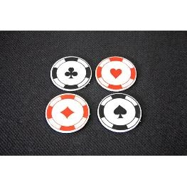 Confetti de table jeton de casino