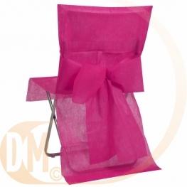 Housse de chaise avec noeud automatique par 8