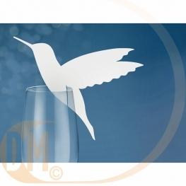Marque place pour verre Hirondelle par 10