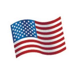 Confetti de table drapeau USA par 16