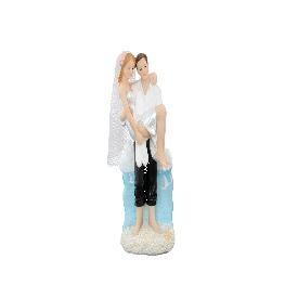 Couple de Mari�s Les pieds dans l\\\'eau