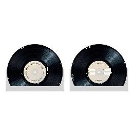 Centre de table disque vinyle
