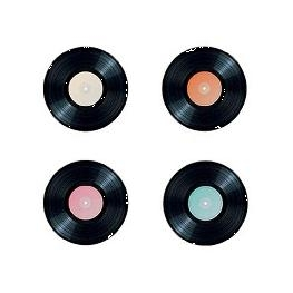 Confetti de table Disque vinyl par 16