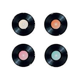 Confetti de table Disque vinyl par 16