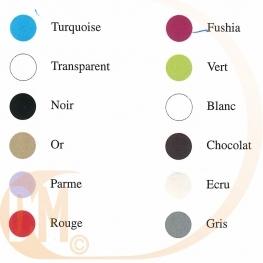 Cuillère en plastique eco de couleur par 50