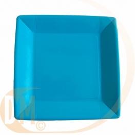 Assiette carton carrée par 10