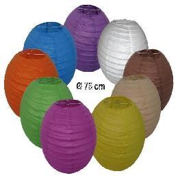 Lampion chinois géant en couleur