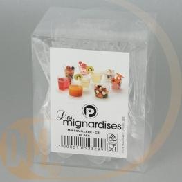 Mini Cuillère ou fourchette cristal par 100