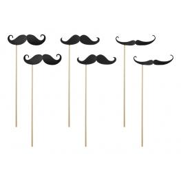 Sachet Sticks Moustaches Photo Booth
