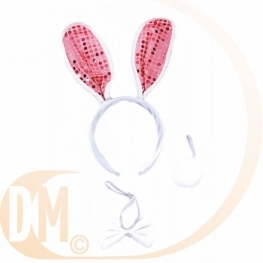 Coiffe set lapin